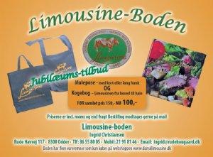 salg af TILBUD: Mulepose + Kogebog